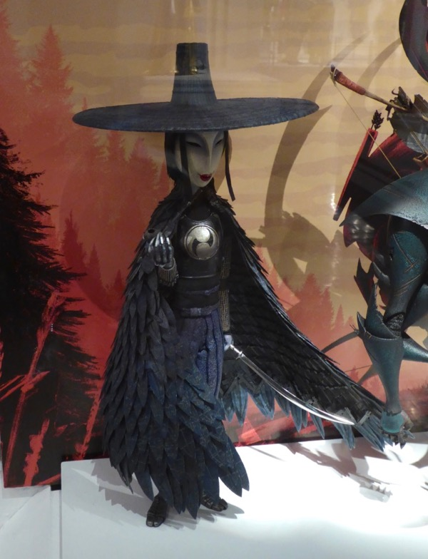 Kubo and Two Strings Evil Sister puppet