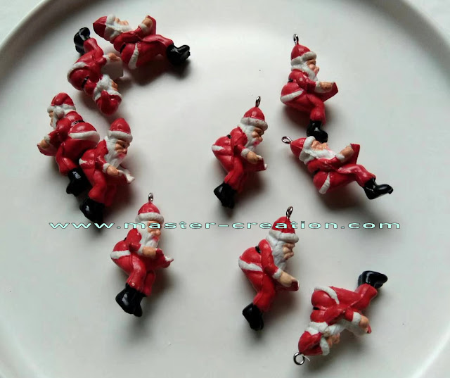 mini Santa Claus pendant