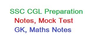 SSC CGL Preparation, ssc CGL mock test