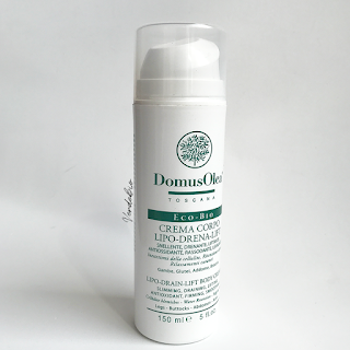 Review: Domus Olea Toscana Crema Corpo Lipo-Drena-Lift -verdebio-