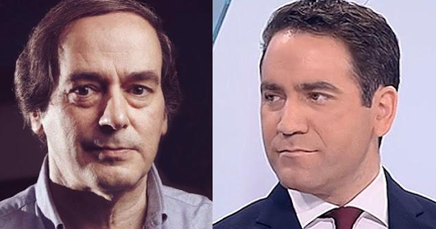 Isaías Lafuente y Teodoro García Egea