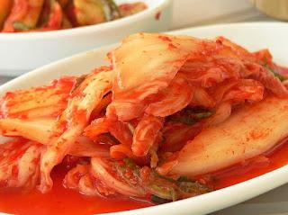 membuat kimchi halal dan enak