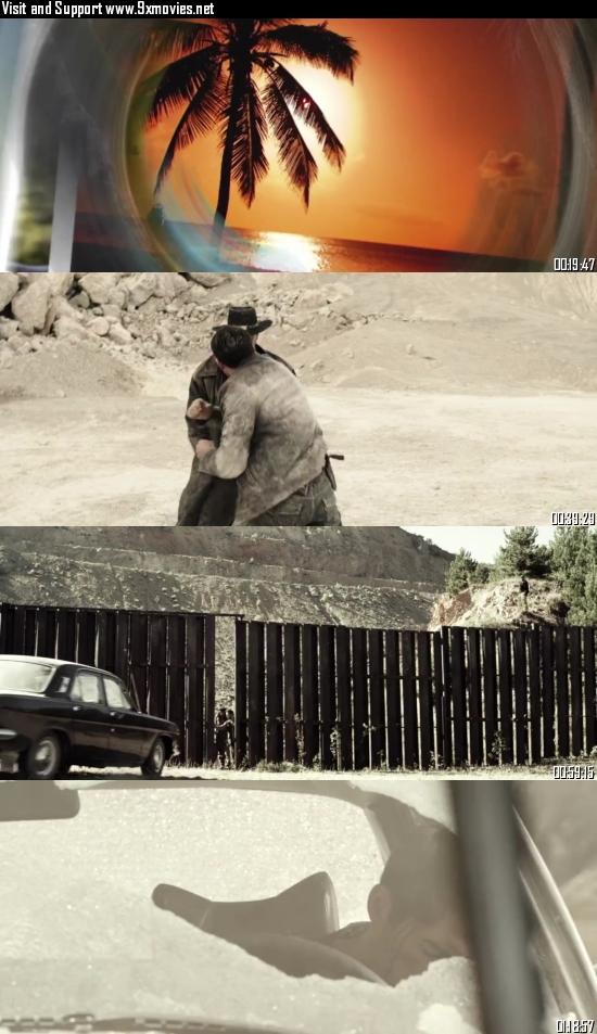 El Gringo 2012 Dual Audio Hindi 720p BluRay 800MB