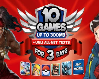 TM Online Games Promo –1, 7 and 30 Days Validity up to 10 Apps
