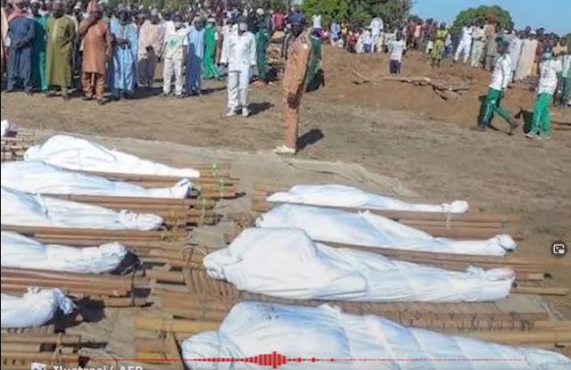 110 Petani Tewas dalam Pembunuhan Massal di Borno Nigeria, Diduga Dilakukan Kelompok Boko Haram