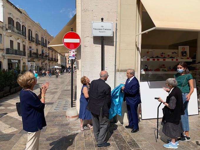 Matera: intitolate due strade a Vincenzo Corazza e Gerardo Guerrieri
