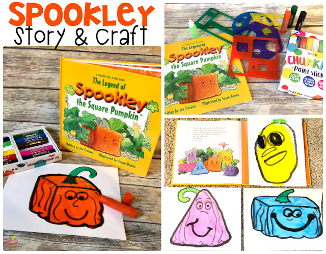 Spookley the Square Pumpkin activity