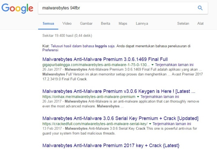 software pencari serial number crack dan keygen