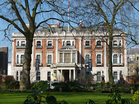 Hertford House, previously Manchester House, in Manchester Square,   London. Once the main London residence of Lord Hertford,  it is now home to The Wallace Collection