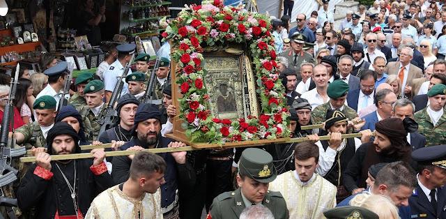 Την Ιερά εικόνα της Παναγίας Σουμελά υποδέχεται η Θεσσαλονίκη