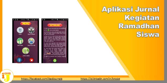 Aplikasi Jurnal Kegiatan Ramadhan Siswa