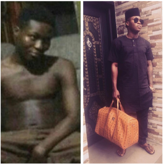 This before and after photo of Reekado Banks will inspire you