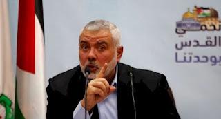 """رئيس المكتب السياسي لحركة """"حماس""""، إسماعيل هنية، فلسطين، اتفاقية اوسلو، اسرائيل، التطبيع، الضفة الغربية، سبوتنيك، حربوشة نيوز"""