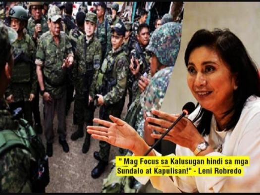 VP Leni hindi sang-ayon sa ipinatupad na Community Quarantine ni President Duterte