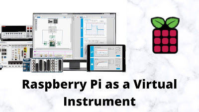 Using Raspberry Pi 4 as an instrument in LabVIEW