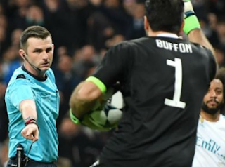 Allegri says the referee had to understand Buffon's reaction
