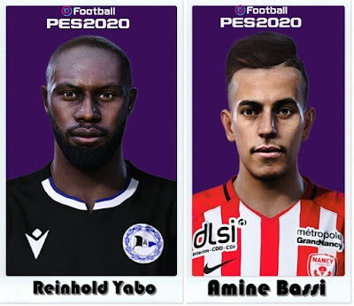 PES 2021 Faces Amine Bassi & Reinhold Yabo by Shaft