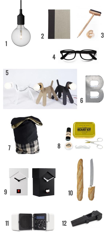 Shopping natalizio regali di design per lui dettagli for Regali di design