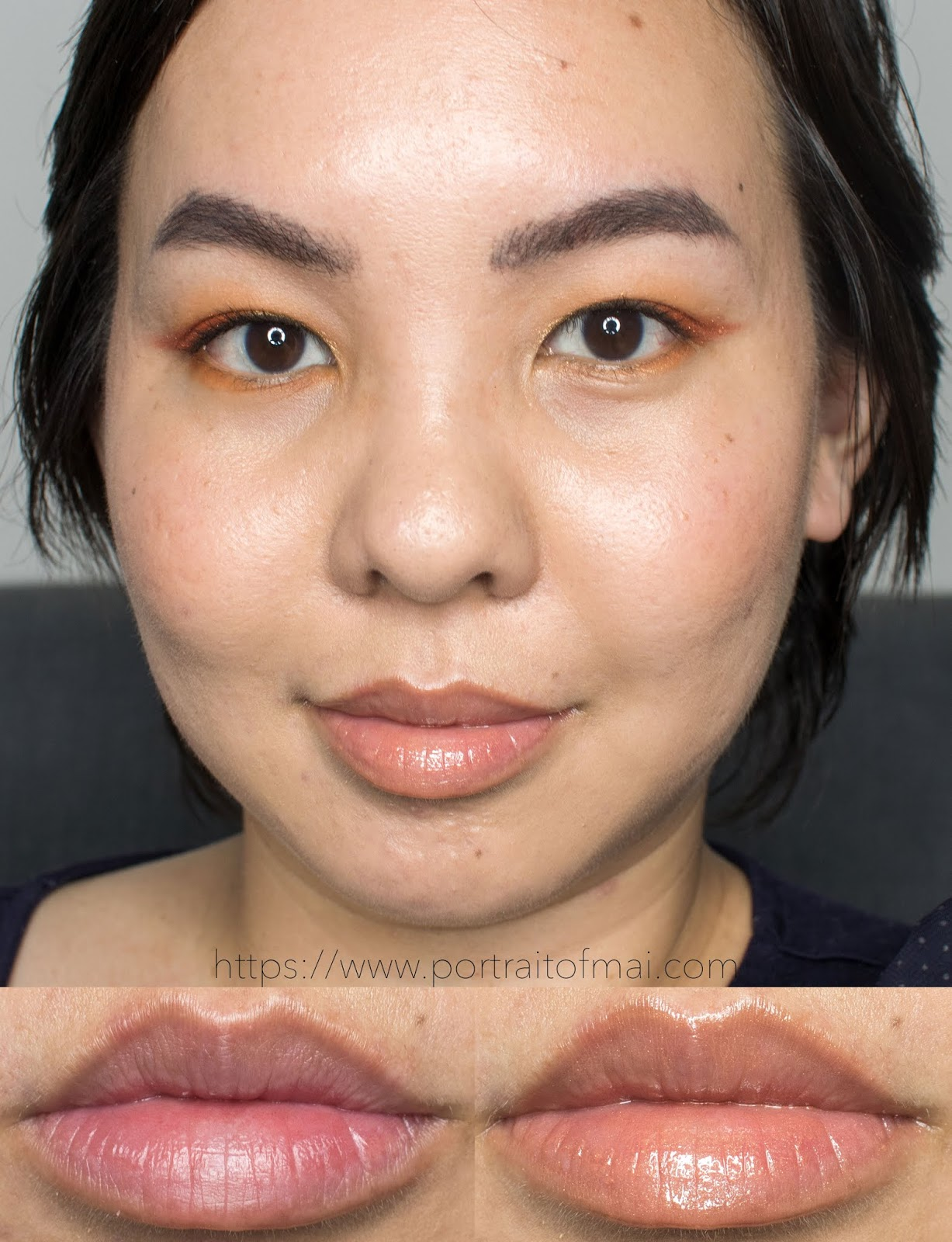 Persona Cosmetics Honey Lip Gloss Swatch
