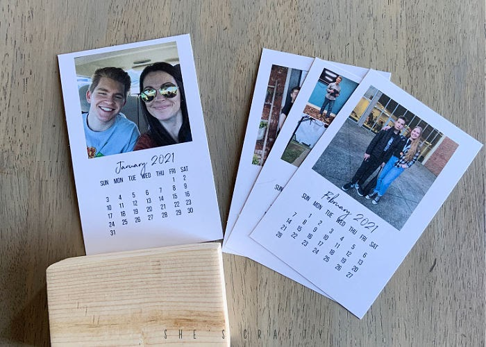 2021 photo calendar with free month png