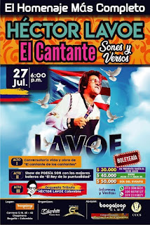 GRAN Homenaje a Héctor Lavoe en BOOGALOOP Bogotá