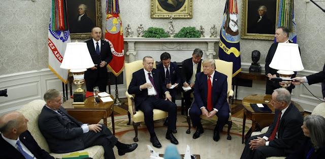 """Ερντογάν - Τραμπ και """"διπλωματία των γαμπρών"""""""