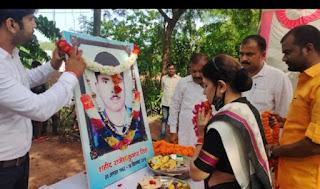 उरी शहीद की स्मृति में बनेगा स्तंभ और पार्क: श्रीकला धनंजय सिंह   #NayaSaberaNetwork