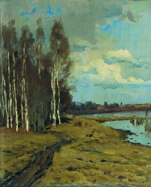 Исаак Ильич Левитан - Пейзаж (2)