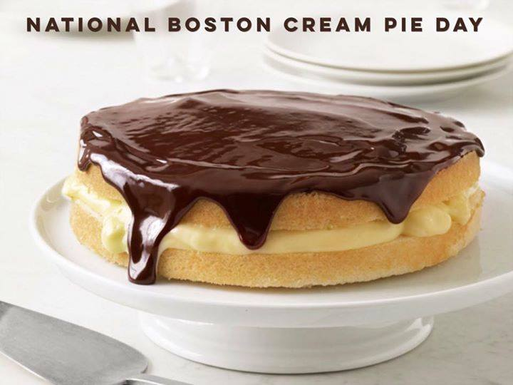 National Boston Cream Pie Day Wishes Images