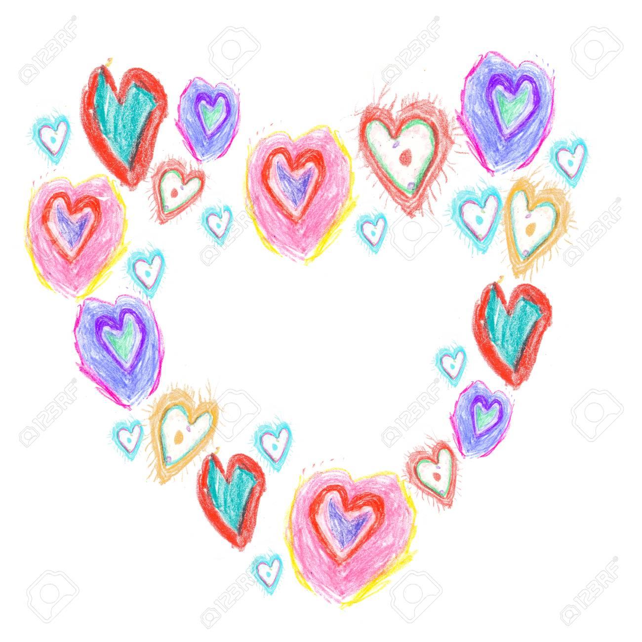 Herz Vorlage Malen
