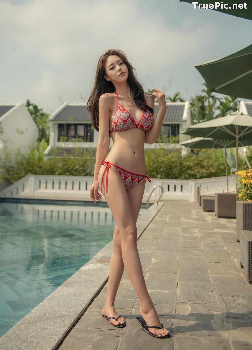 Image Korean Fashion Model - Kim Moon Hee - Hestia Slim Bikini - TruePic.net - Picture-7