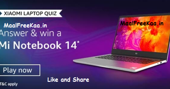 how to win laptop free