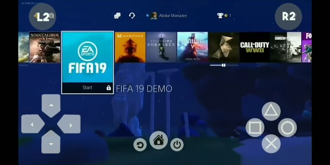 DOWNLOAD PS4 EMULATOR 2020 APK