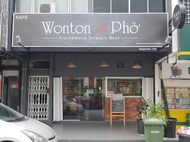 Wonton & Pho @ Happy Garden, Kuala Lumpur