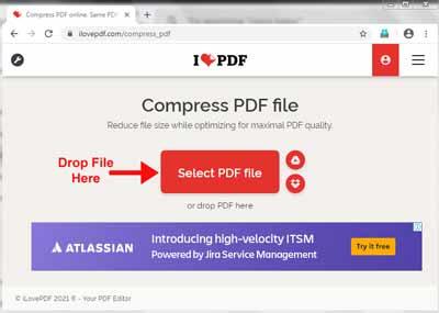 Choose & Drop File Here