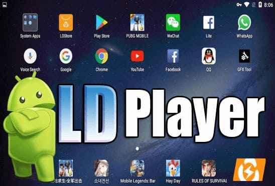 تحميل برنامج LDPlayer 4.0.36 أسرع وأخف محاكي للأندرويد للأجهزة الضعيفة اخر اصدار