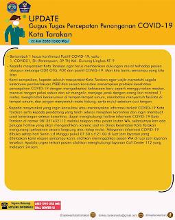 Press Release COVID-19 Tarakan 22 Juni 2020 - Tarakan Info
