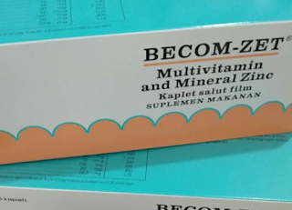 Becom Zet, Multivitamin Andal Untuk Menjaga Kesehatan Tubuh