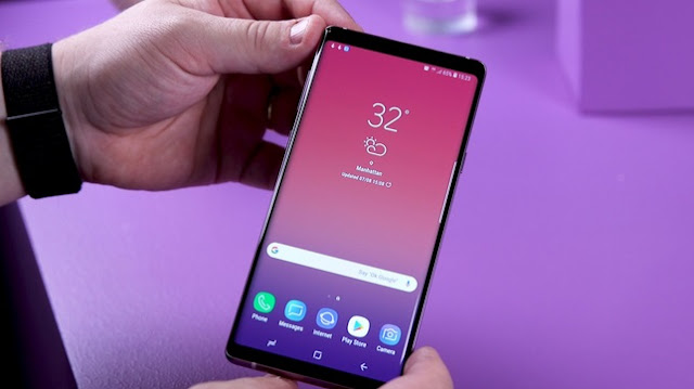 Keunggulan Samsung Galaxy Note 9 - Ukuran