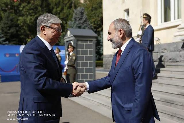 Armenia quiere desarrollar lazos comerciales con Kazajstán
