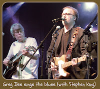 Rock Bottom Remainders original musical moment: Stephen King, Greg Iles