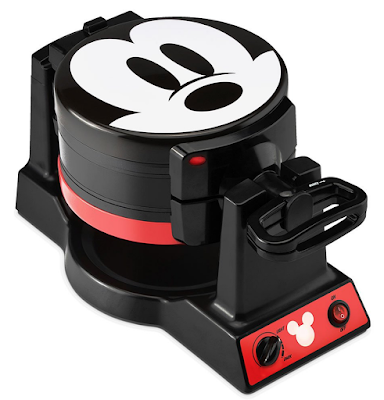 Select Brands Waffle Makers - Mickey Mouse Double Flip Waffle Maker