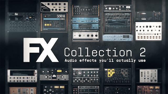 Interface dos plugins Arturia - FX Collection 2 v2021.7
