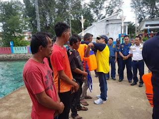 Merasa Diperhatikan, Petugas Posko Nataru KSOP Kepulauan Seribu Senang Dikunjungi