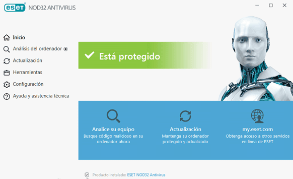 como instalar y activar antivirus nod32