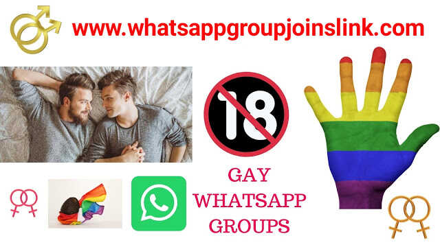 Gay Whatsapp Group Links: Join 2000+ Gay Latest Whatsapp Group Join Links 2020