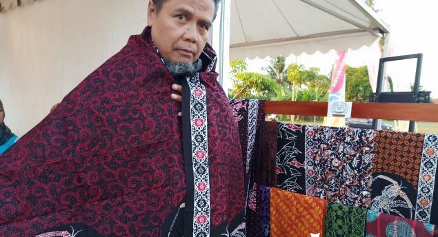Karya Unik Pengrajin Batik Kodja di Pangandaran yang Mengangkat Brand Lokal