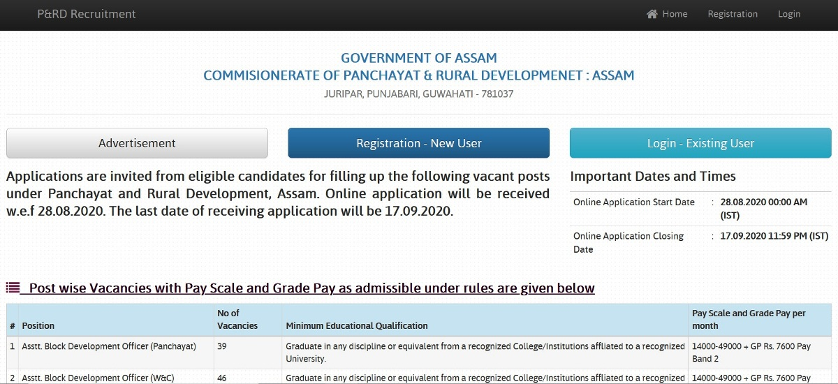 PNRD-Application