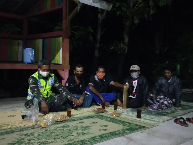 Ciptakan Situasi Aman dan Kondusif Babinsa Cawas Patroli Wilayah
