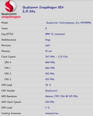 Spesifikasi smartphone bekas LG G5 Ex Internasional